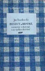 Jan Twardowski • Zeszyt w kratkę