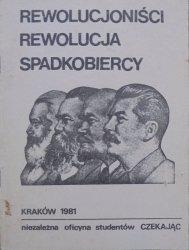 Rewolucjoniści, rewolucja, spadkobiercy [Sołżenicyn, Bauman, Zinowiew]