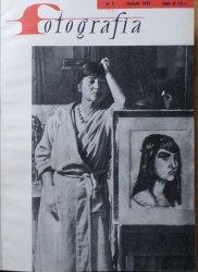 Czasopismo Fotografia • rocznik 1961