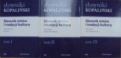 Władysław Kopaliński • Słownik mitów i tradycji kultury [komplet]