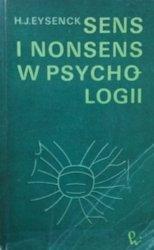 Hans Eysenck • Sens i nonsens w psychologii