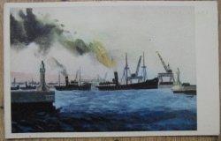 Wejście do Portu Gdyńskiego [Jan Maria Brzeski]