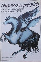 Karl Dedecius • Sto wierszy polskich [wydanie dwujęzyczne]