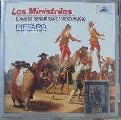 Piffaro • Los Ministriles. Spanish Renaissance Wind Music • CD