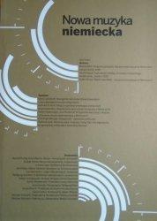 red. Daniel Cichy • Nowa muzyka niemiecka