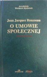 Jean Jacques Rousseau • O umowie społecznej [zdobiona oprawa]