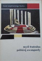antologia • Myśl teatralna polskiej awangardy 1919-1939