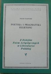 Piotr Stasiński • Poetyka i pragmatyka felietonu [Chłędowski, Słonimski, Nowaczyński, Passent]