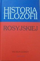Wilhelm Goerdt • Historia filozofii rosyjskiej