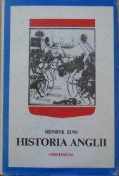 Henryk Zins • Historia Anglii