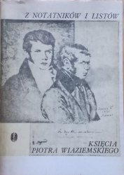 Z notatników i listów księcia Piotra Wiaziemskiego