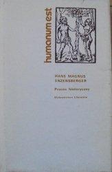 Hans Magnus Enzensberger • Proces historyczny