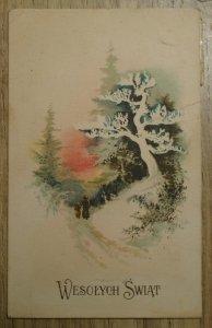 pocztówka Wesołych Świąt [1938]