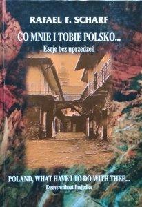 Rafael Scharf • Co mnie i Tobie Polsko. Eseje bez uprzedzeń. Poland, what have i to do with thee