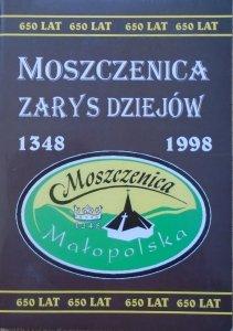 praca zbiorowa • Moszczenica 1348-1998. Zarys dziejów