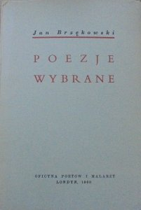 Jan Brzękowski • Poezje wybrane [OPiM]