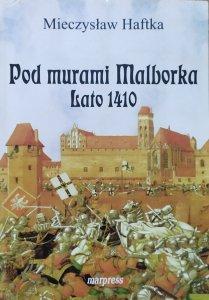 Mieczysław Haftka • Pod murami Malborka. Lato 1410