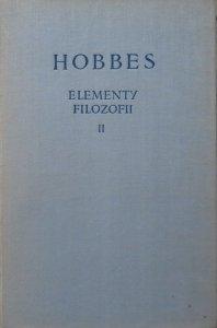 Tomasz Hobbes • Elementy filozofii tom 2.