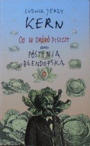 Ludwik Jerzy Kern • Co w drókó piszczy, czyli Póstynia Błendofska