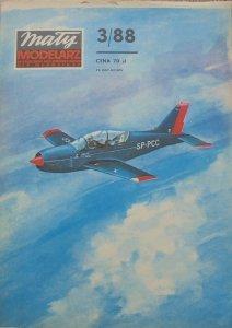 Mały Modelarz 3/1988 • Polski samolot szkolno-treningowy PZL-130 ORLIK