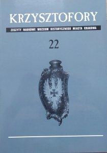 Krzysztofory • Zeszyty Naukowe Muzeum Historycznego Miasta Krakowa 22 [twierdza Kraków, secesyjne bramy, Andrzej Ettmayer]