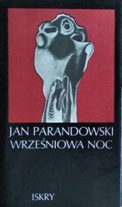 Jan Parandowski • Wrześniowa noc