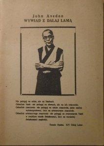 John Avedon • Wywiad z Dalajlamą