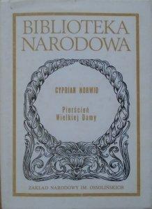 Cyprian Norwid • Pierścień Wielkiej Damy