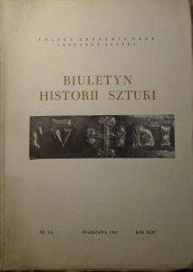 Biuletyn Historii Sztuki 3-4/1962 [Śląsk, Brzeg, Wrocław, Zamek Piastowski]