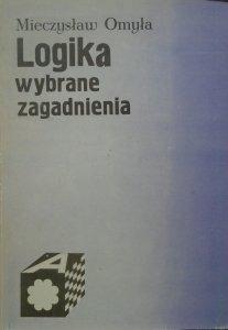 Mieczysław Omyła • Logika. Wybrane zagadnienia