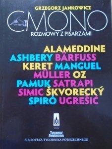 Grzegorz Jankowicz • Cmono. Rozmowy z pisarzami
