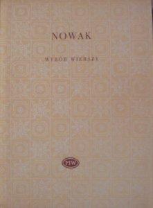 Tadeusz Nowak • Wybór wierszy [Biblioteka Poetów]