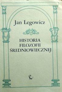 Jan Legowicz • Historia filozofii średniowiecznej