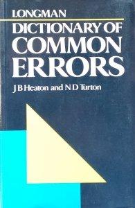 J.B Heaton • Dictionary of Common Errors