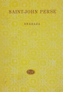 Saint-John Perse • Anabaza [Biblioteka Poetów]