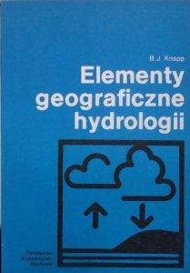 B.J.Knapp • Elementy geograficzne hydrologii