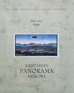 Elżbieta Maria Firlet • Najstarsza panorama Krakowa
