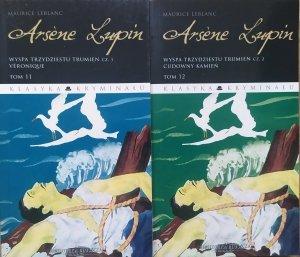 Maurice Leblanc • Arsene Lupin tom 11/12. Wyspa trzydziestu trumien