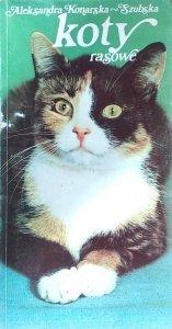 Aleksandra Konarska-Szubska • Koty rasowe