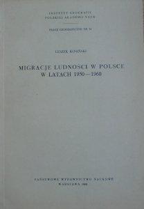 Leszek Kosiński • Migracje ludności w Polsce w latach 1950-1960