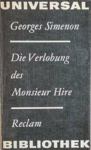 Georges Simenon • Die Verlobung des Monsieur Hire