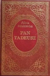 Adam Mickiewicz • Pan Tadeusz [zdobiona oprawa]