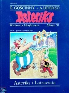 Gościnny, Uderzo • Asterix. Asteriks i Latraviata. Wydanie z leksykonem - album 31