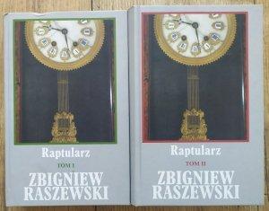 Zbigniew Raszewski • Raptularz [komplet]