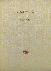 Tadeusz Różewicz • Wiersze [Biblioteka Poetów]