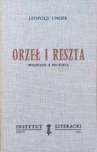 Leopold Unger • Orzeł i reszta (widziane z Brukseli)