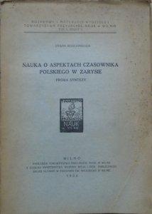 Erwin Koschmieder • Nauka o aspektach czasownika polskiego w zarysie. Próba syntezy