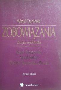 Witold Czachórski • Zobowiązania. Zarys wykładu