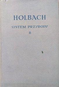 Holbach • System przyrody II