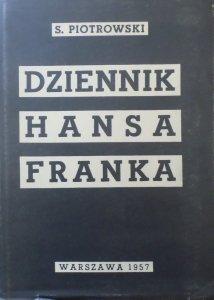 Stanisław Piotrowski • Dziennik Hansa Franka